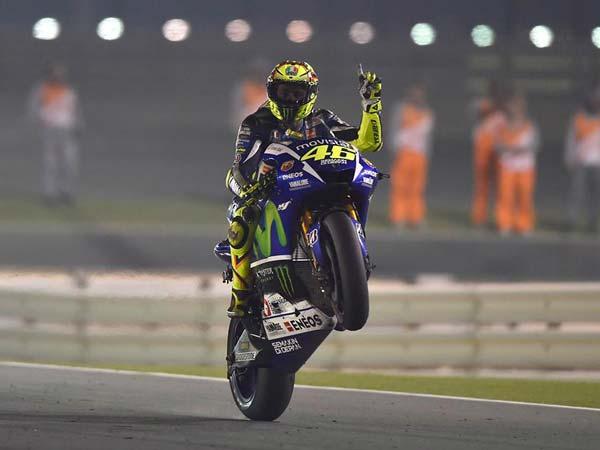 2015 Motogp Valentino Rossi Wins Season Opener In Qatar
