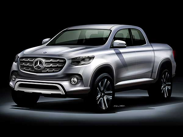 mercedes pickup truck launch soon