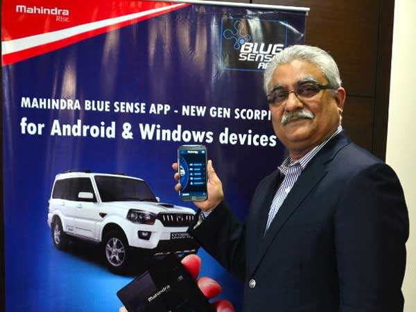 mahindra blue sense launch in india