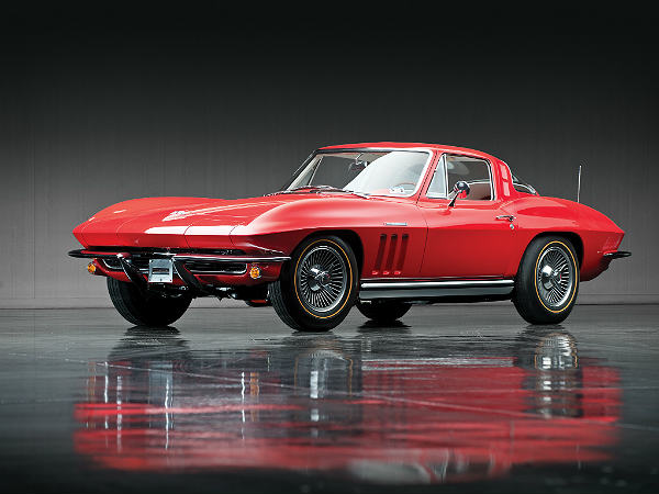 10. Chevrolet Stingray: