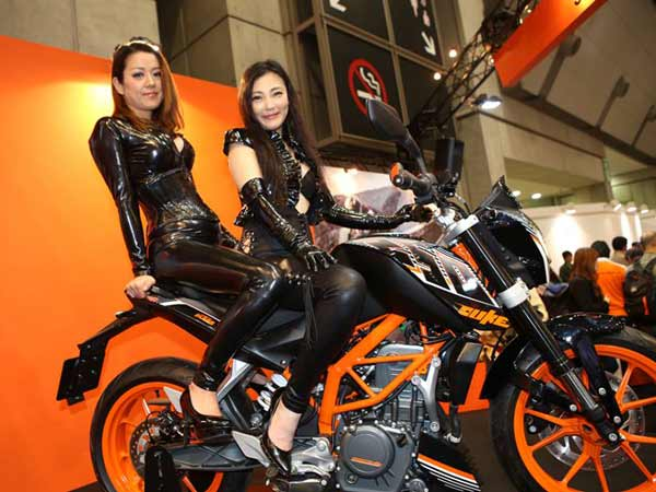 Ktm Rc250 And Duke 250 Motorcycles Unveiled In Tokyo