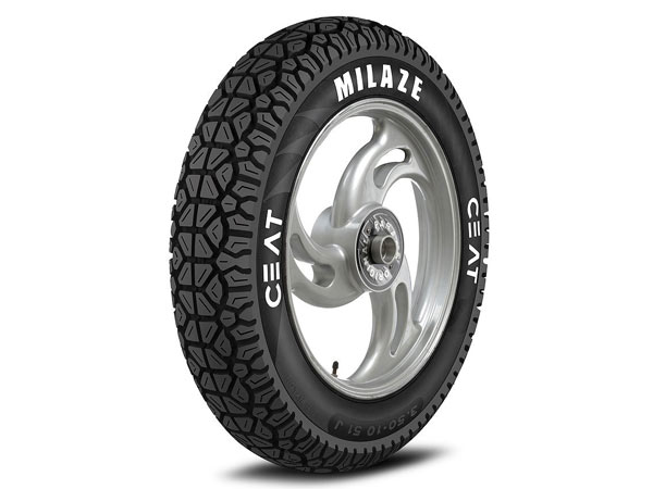 Ceat Milaze Tyre Launched In India For Scooters