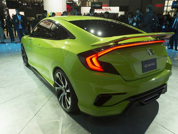 Honda's Show Stealer The Civic Concept Revealed