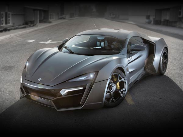 10. Lykan HyperSport: