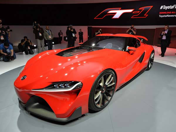 5. Toyota FT-1 Concept: