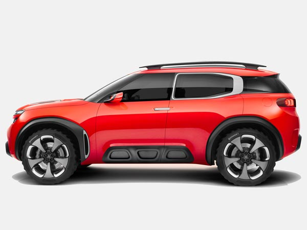 Citroen Aircross Concept Revealed Prior To Debut!