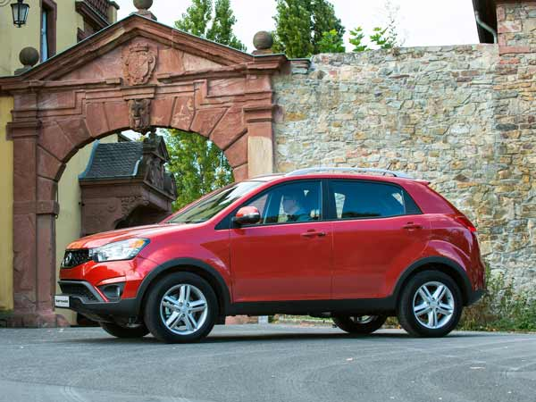 ssangyong korando price in india