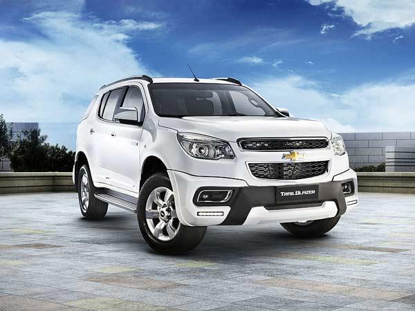 India Bound 2015 Chevrolet Trailblazer Launched In Philippines