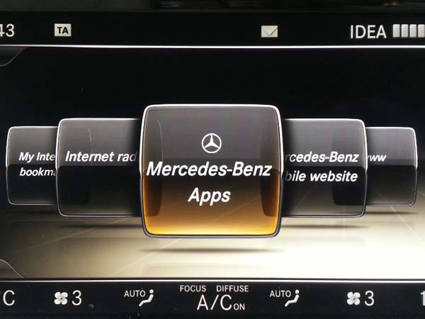 Mercedes-Benz Apps Now Available On All Models With COMAND ...