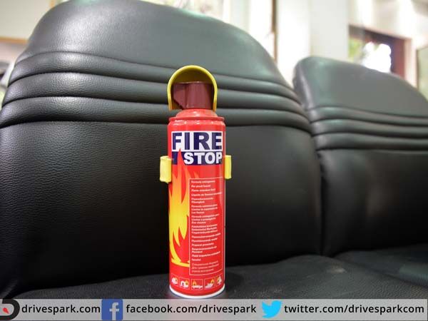8. Fire Extinguisher:
