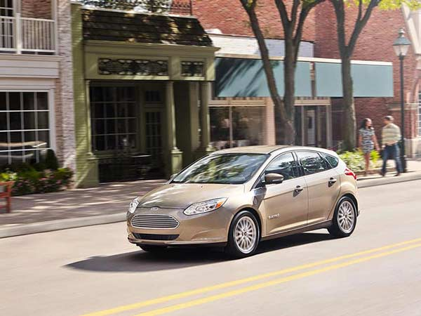 9. Ford Focus Electric: