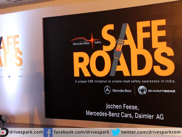 Mercedes Safe Road An Unique CSR Initiative For India