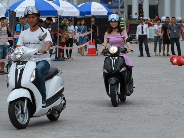 yamaha scooter launch