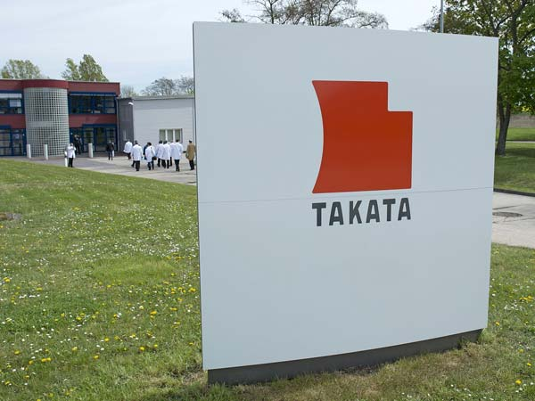 takata sued after woman dies