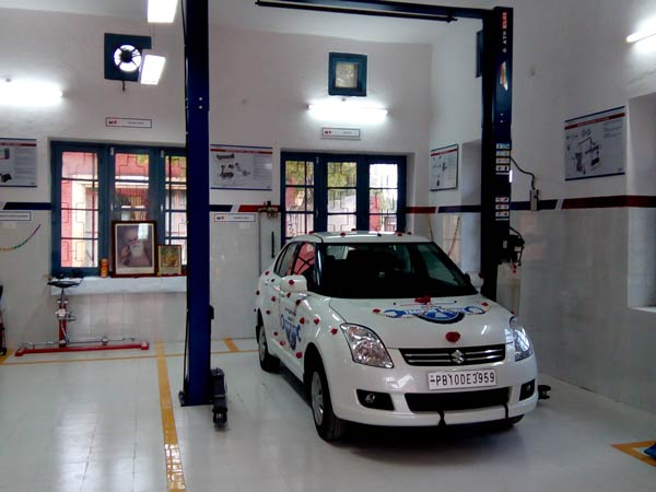 automotive training by maruti