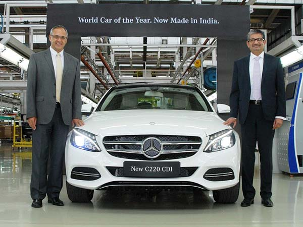 mercedes c 220 cdi local assembly
