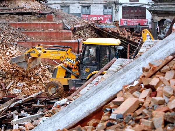 jcb sends more machines to help nepal