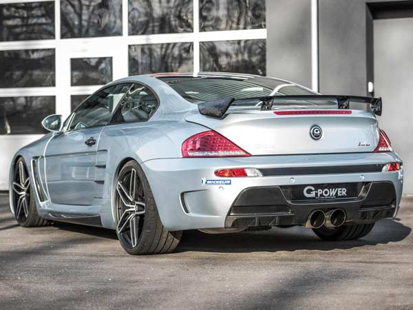 g power build 1001 horsepower bmw m6 coupe rear