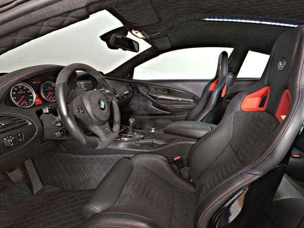 g power build 1001 horsepower bmw m6 coupe interior
