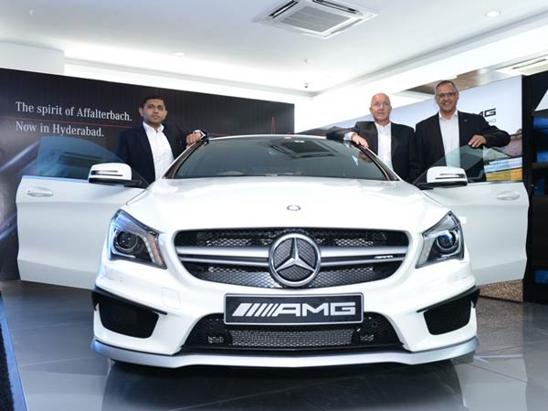 mercedes benz amg 4th performance centre hyderabad
