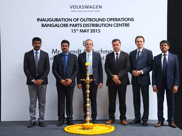 volkswagen bangalore parts distribution centre
