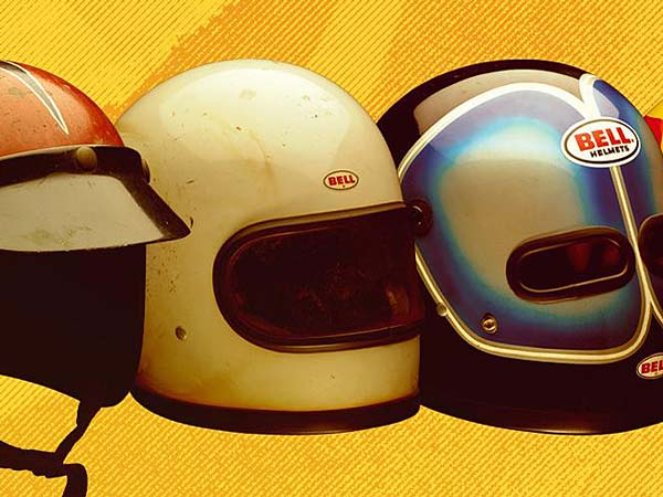 Helmets and motorsports: