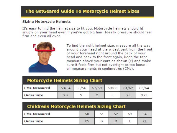 How to choose a helmet that fits properly?