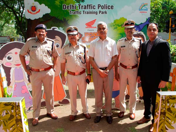 honda road safety summer camp delhi