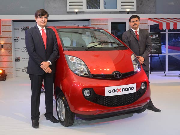 tata nano genx launch in india