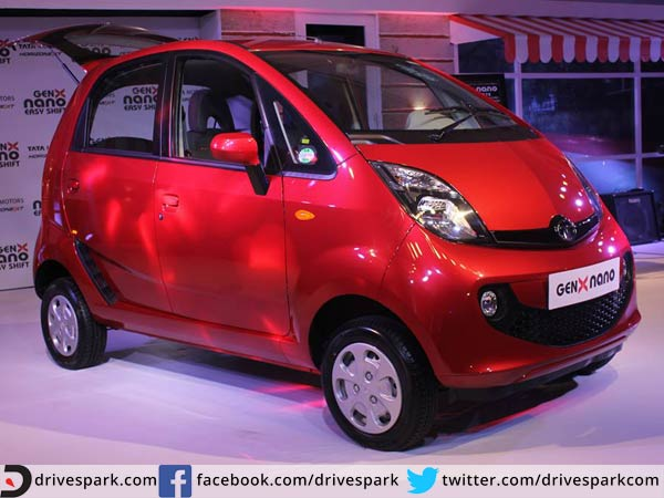 tata nano genx price in india