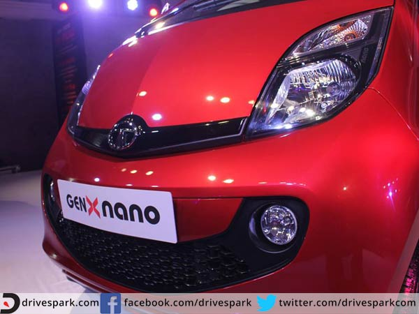 tata nano genx grill and headlight