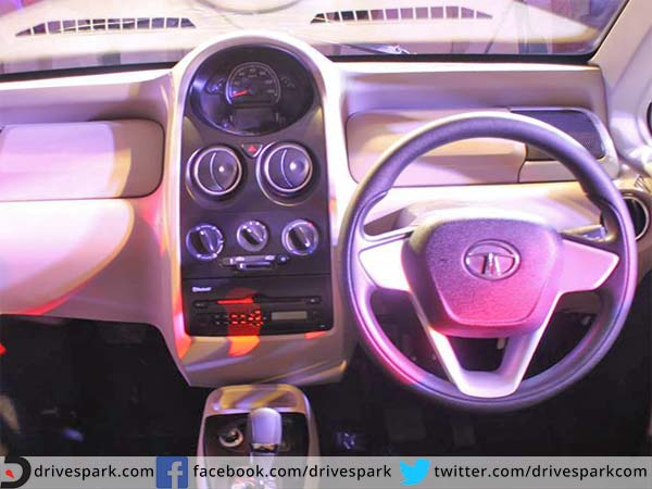 tata nano genx interior features