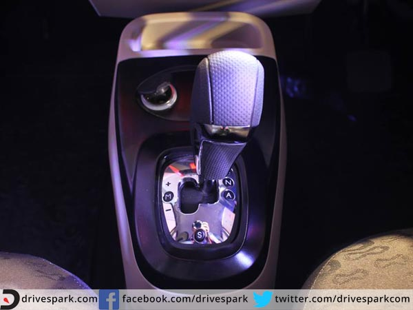 tata nano genx amt gear shift