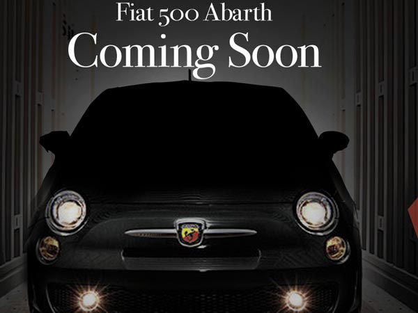 fiat 500 abarth coming to india soon teased on website. Black Bedroom Furniture Sets. Home Design Ideas