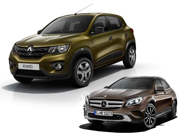2. ...or A GLA-Class for the middle class?