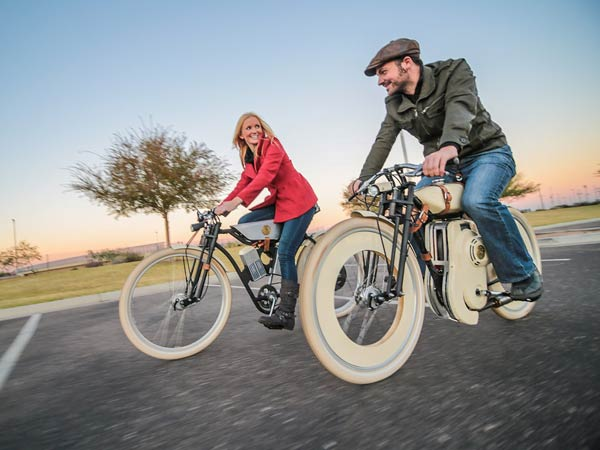 Cruiser Motorized Bicycle By Local Motors