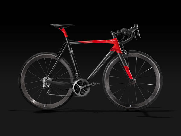 audi limited edition sport bicycle
