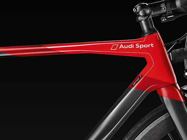 audi limited edition sport racing bicycle