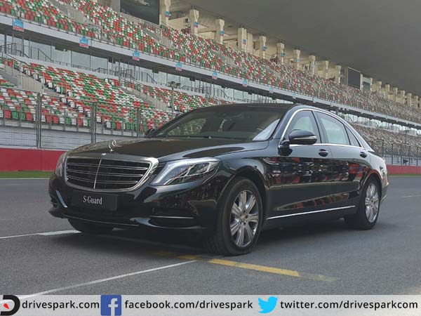 Mercedes benz s600 guard launched price specs features for Mercedes benz s 600 price