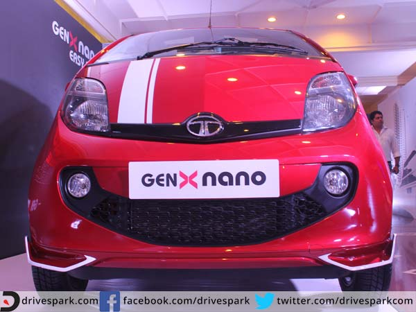 Tata Nano Genx Showcased With Every Accessory Available