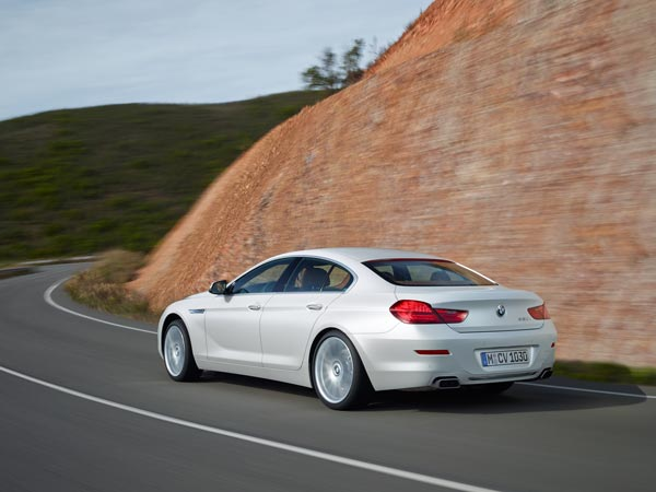 bmw 6 series gran coupe features
