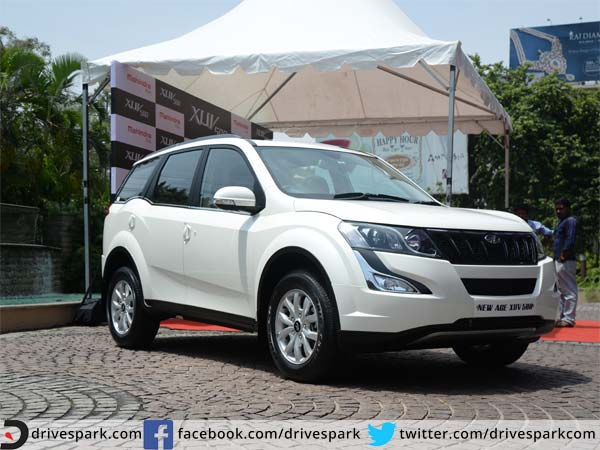 New age mahindra xuv 500 launched in bangalore price for Xuv 500 exterior modified