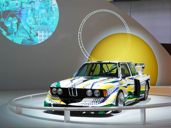 bmw art cars rolling sculptures exhibition