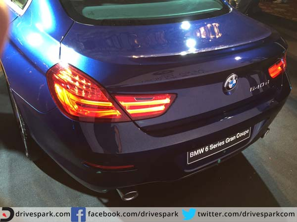bmw 6 series gran coupe tail lamps