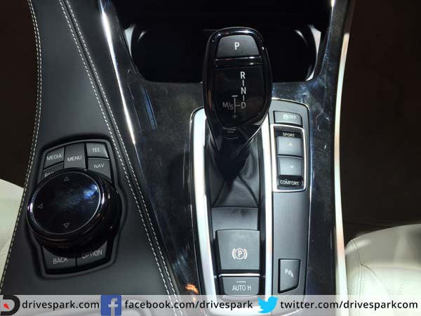 bmw 6 series gran coupe gear shift