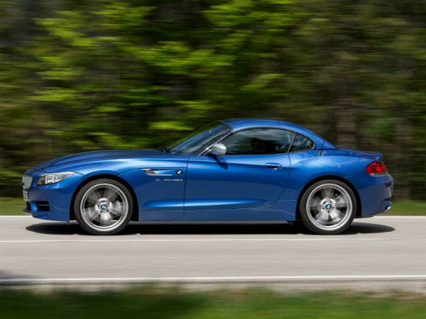 bmw z4 estoril blue metallic