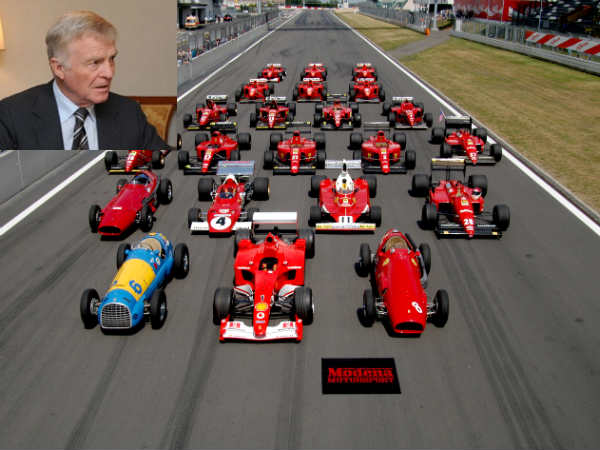 max mosley f1 drivers salary