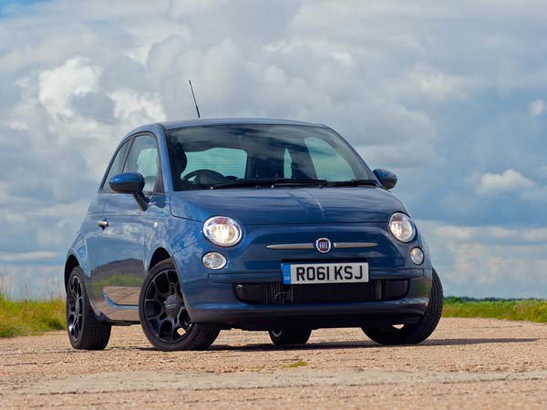 fiat 500 2016 edition front profile