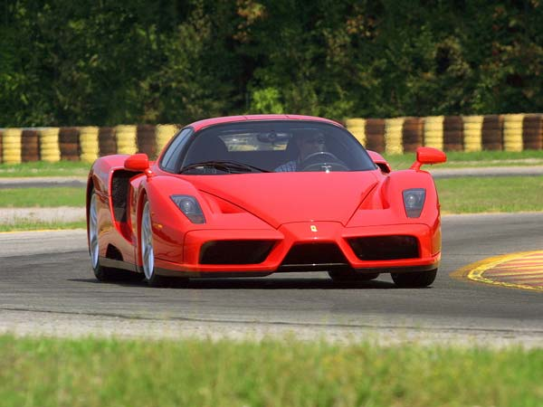 ferrari enzo owned by pope to be auctioned