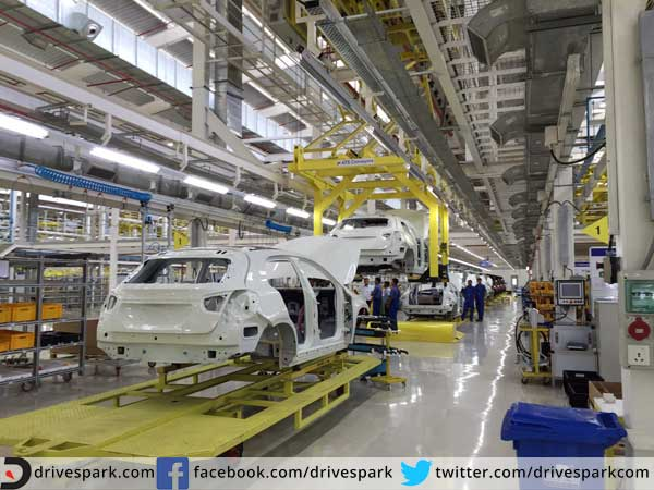 Mercedes benz gla class production now localised for Mercedes benz manufacturing